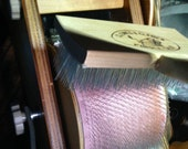 """Clemes  single burnishing  brush extra long 1"""" tines to use on drum carders or blending boards to blend and pack on more fibers on drum"""