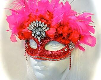 Marilyn's Masquerade Mask Mardi Gras Carnivale Masks M-111