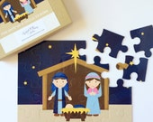 Christmas Nativity Puzzle - Holiday Puzzle for Kids - Christmas Gift for Kids