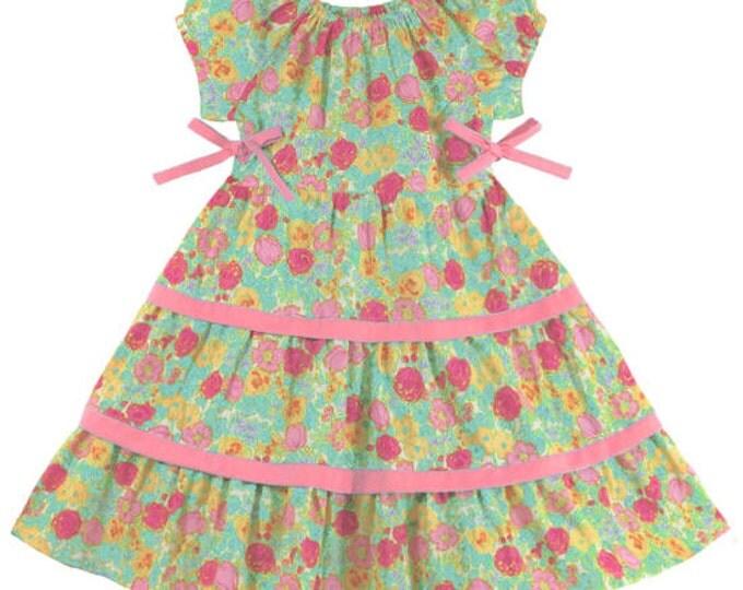 Stacia Pattern / Girl's Dress Pattern / Easy Pattern / Children's Corner 288