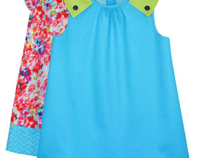 Laura Pattern / Girls Dress Pattern / Girls Top Pattern /  Children's Corner  287