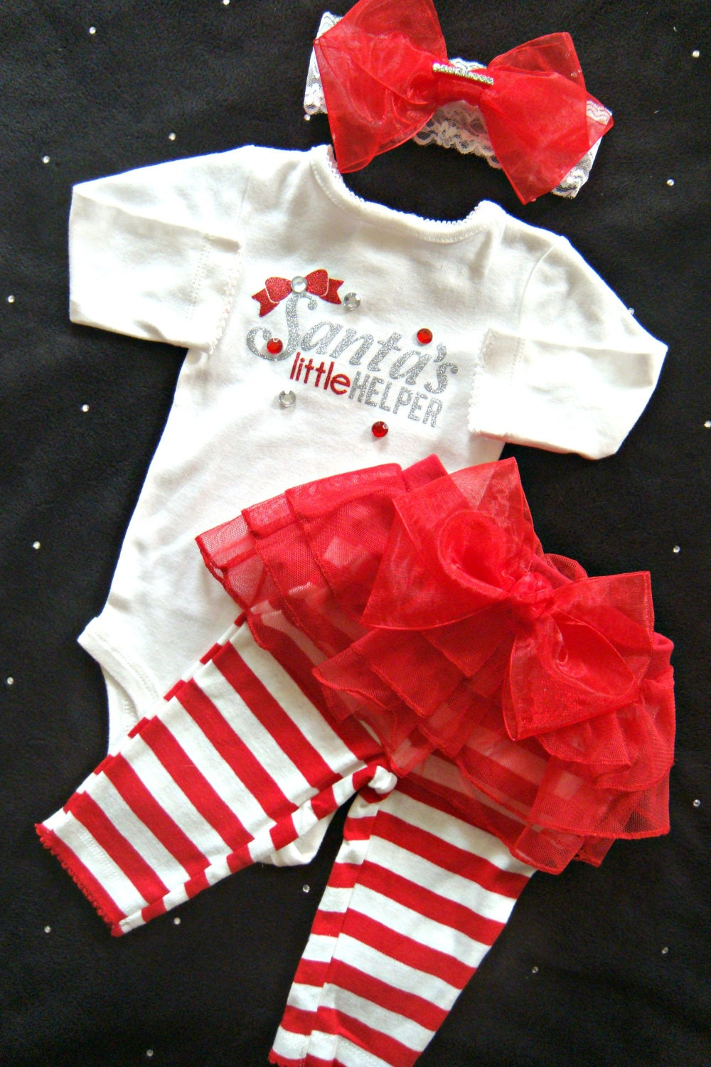 Newborn Baby Christmas Outfit