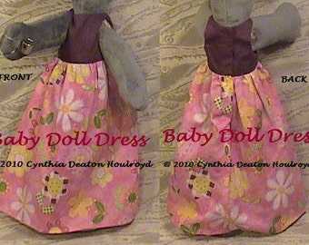 "PART #2 Option E - Baby Doll DRESS [No Ruffle] - CDH ""Three Blind Mice..."""