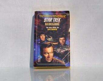Vintage Paperback Book Star Trek The Original Series Recovery #73 1995 - Paramount - Pocket Books - Admiral Kirk - Spock - Klingon  - McCoy