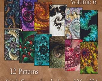 Counted Cross Stitch Designs - Fractal Cross Stitch Patterns - Twelve Beautiful Charts - Instant Download PdF - StitchX Best Seller