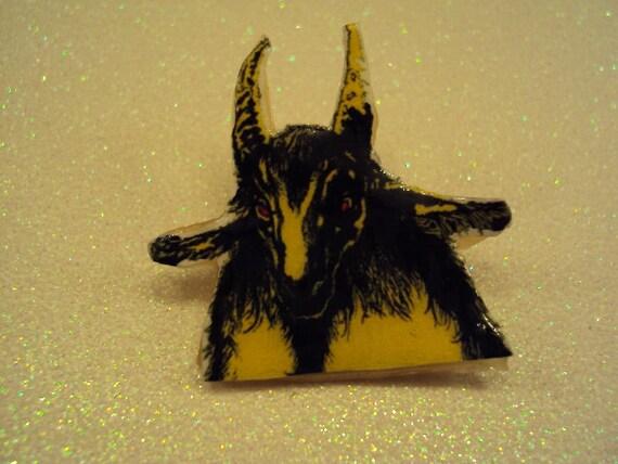 bathory goat pin