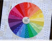 The Motley Wheel: A Mini Color Wheel Quilt