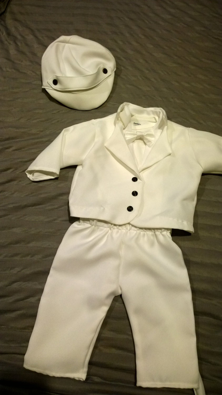 Baby junge taufe outfit taufe segnung wei outfit von - Taufe outfit junge ...