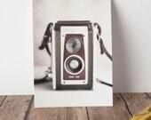 Fine Art Print Postcard 4x6 Vintage Camera Dreamy Rustic Photography Wall Decor Office Decor
