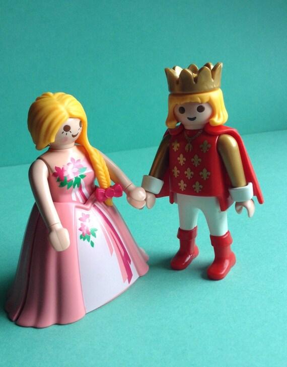 Bride Groom Prince And Princess Playmobil Geobra Wedding
