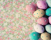 Easter eggs photography spring decor kitchen decor pink kitchen print large print pastel kitchen art easter decor pink neutral color