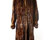 1960s Brown Mink Fur Coat