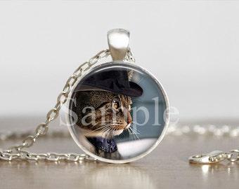 Steampunk Cat,  Steampunk Necklace, Steampunk Jewelry