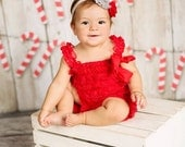 christmas romper sets..christmas lace romper set.. red lace romper set..holiday romper sets..holiday romper set..red romper set..red romper