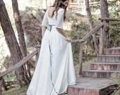 Cream  Ivory Lace Wedding Dress 50s Wedding Dress Full Skirt Bridal Dress  Bridal  Length Dress - Handmade by SuzannaM DesignDress Teas