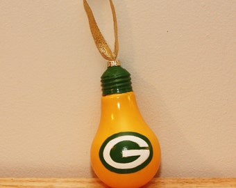 Greenbay Packers Bulb Ornament