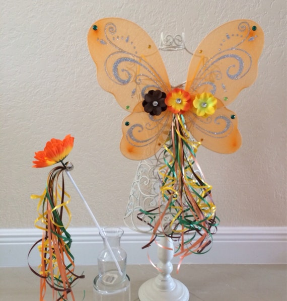 Items similar to Orange Fairy, Fawn Tinkerbell Fairy ...