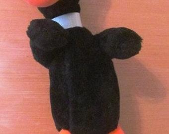 Vintage Stuffed Daffy Duck