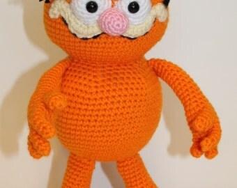 PDF PATTERN: Garfield the Cat Crochet Pattern