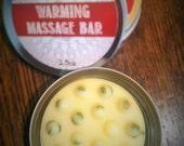 Organic Warming Massage Bar