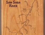 SAN SABA RIVER - River Ma...