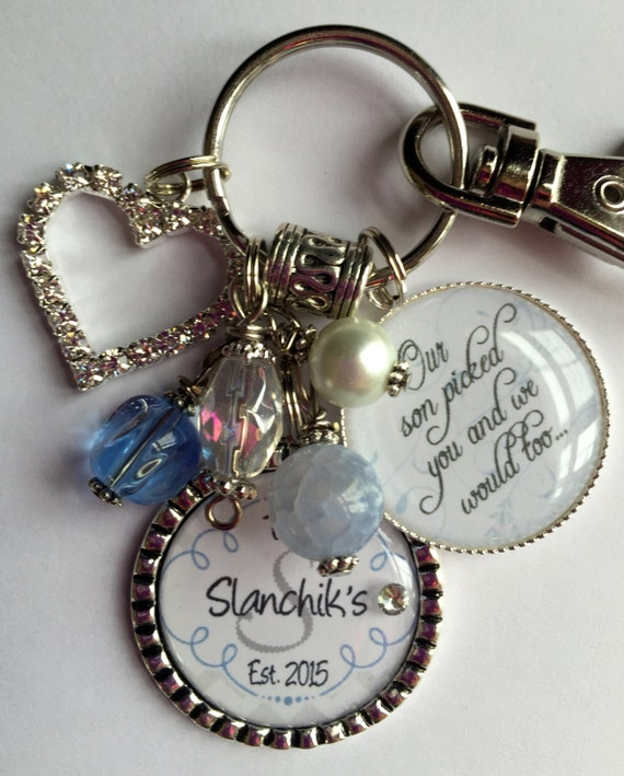 Unique Wedding Gifts For Son And Daughter In Law : Future DAUGHTER in LAW GIFT, personalized bride to be, Our son picked ...