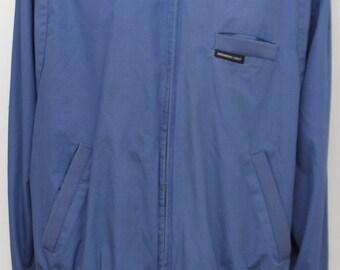 "Rare 80's Vintage ""MEMBERS ONLY"" Blue Jacket Sz: X-LARGE (Men's Exclusive)"