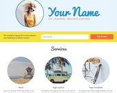 Sunny - Life Coach WordPress Theme - Genesis Child Theme