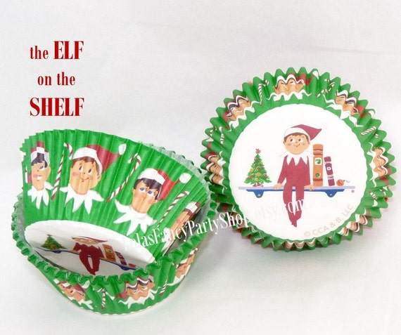 ELF on the SHELF PAPER Baking Cups / Cupcake Liners - 48 ... - photo#43