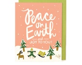 Peace on Earth Holiday Card - Singles & Box Set