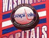 Washington Capitals 90's Starter tshirt Large vintage NHL hockey