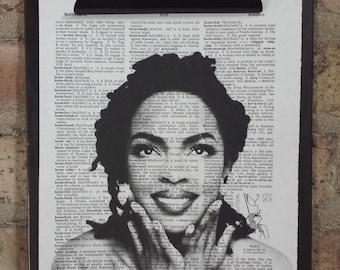 Lauryn Hill Dictionary Print