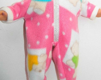 Baby doll 15 quot american girl pink blue yellow green teddy bear sleeper