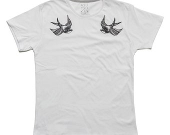 SWALLOWS limited t-shirt // PTRSdesign CO. // Summer Sale