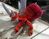 Giant Pacific Octopus Realistic Amigurumi Crochet Pattern PDF