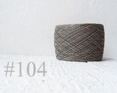 Natural Linen Yarn, linen thread, natural linen, linen, grey, Lithuania linen #104
