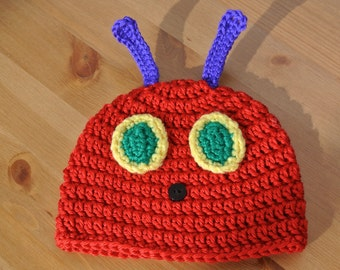 Hungry Caterpillar inspired hat
