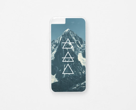 iPhone 6 Case - Mountain iPhone Case - Photographic iPhone Case - Hard Plastic or Rubber