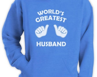 World's Greatest Husband Matching Couples Men's Hoodie