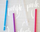 SALE! Short Reusable Straws