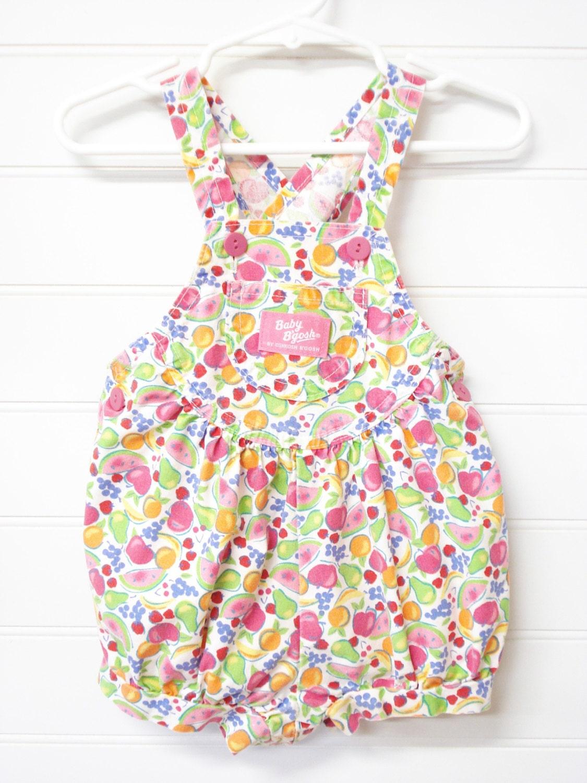 Vintage Baby Clothes Baby Romper Girl Romer Vintage Osh Kosh