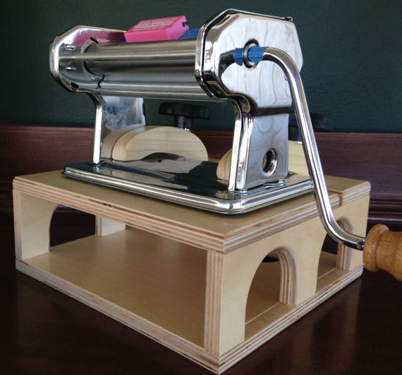 Pasta Pal , with free US shipping universal fit polymer clay pasta machine riser for polymer clay artist lets you work at any angle