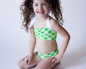 Adjustable halter bikini would