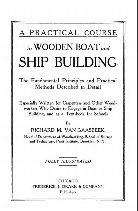 Wooden boat building course sydney west