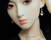 Sparkling Earrings for Any Size Doll: Barbie, Enchanted Doll, Momoko, Fashion Royalty, MSD, SD