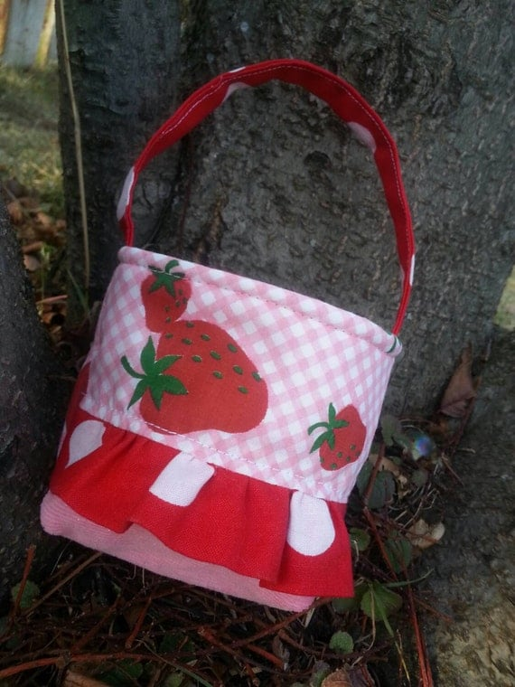 Baby's First Purse, Strawberry Toddler Purse