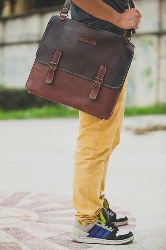 """15""""laptop Bag,Handmade Leather Bag,Men retro briefcase,Business Retro Bag,Minimal Retro Bag"""