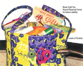 Kitchen Sink Tote Bag, Beach Bag, Shopping Bag -  Paper Sewing Pattern by Eazy Peazy