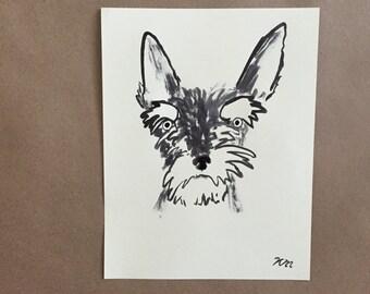 8.5 x 11 Custom Pet Portraits