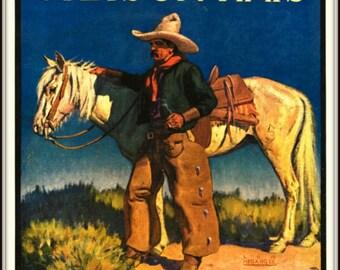 Stetson Hats Advert Poster 1930s -  Print